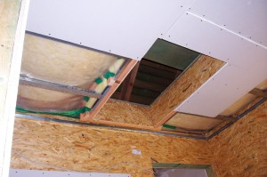 Stavební otvor pro půdní schody